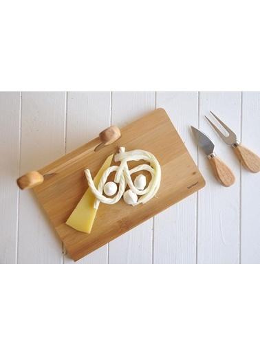 Bambum Castell 5 Parça Peynir Sunum Seti Renkli